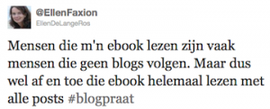 blogs uitgeven als ebooks