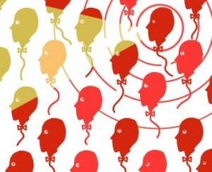 illustratie voor hoe blog je onderscheidend geïllustreerd