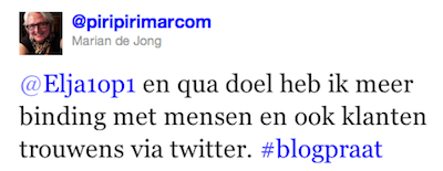 blogpraat twitter vs bloggen
