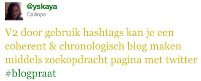 blogpraat bloggen vs twitter