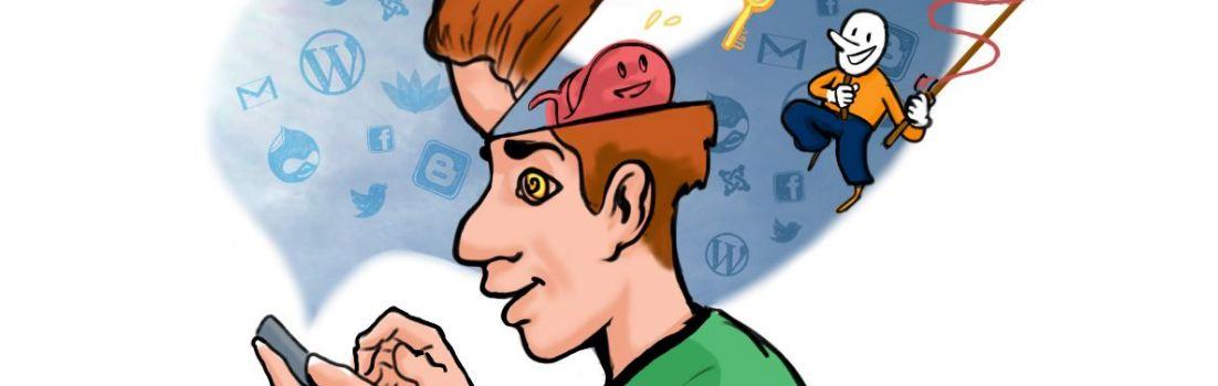 illustratie voor blogveiligheid