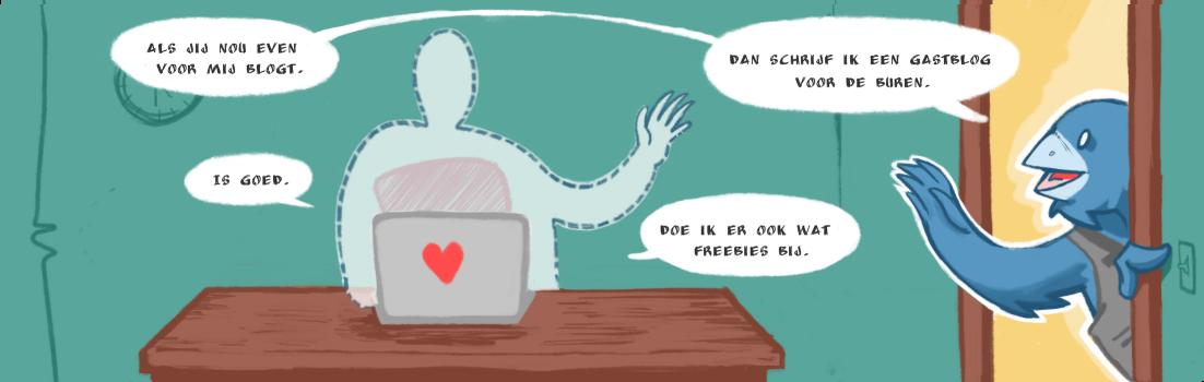 blogsushi editie #1 illlustratie door inktspatten.nl