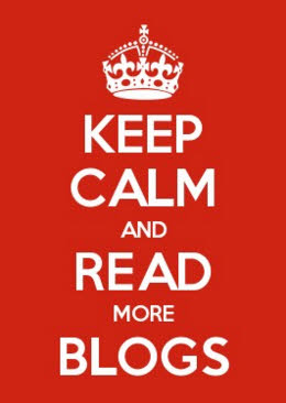 keep calm and read more blogs